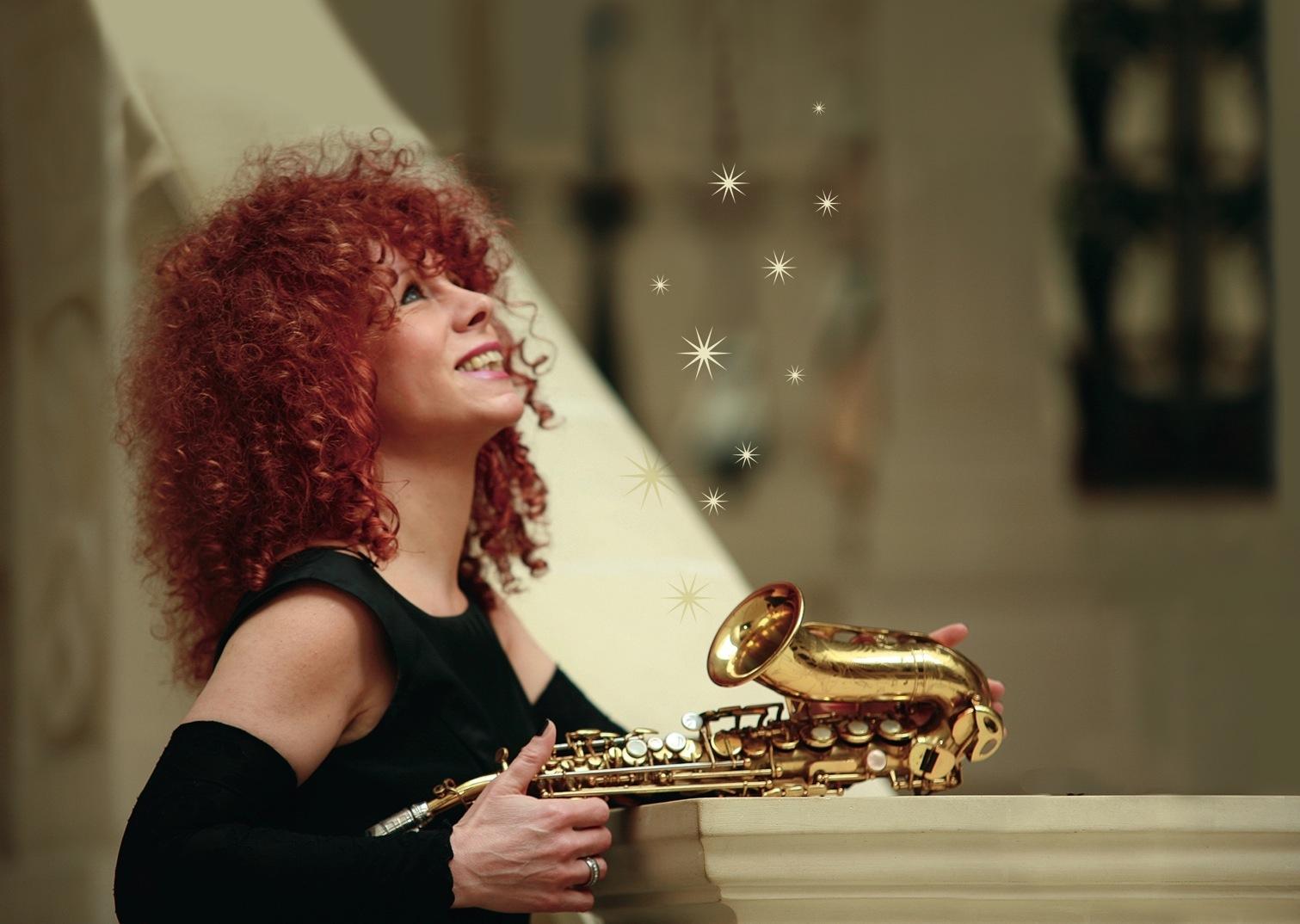 Tina Tandler - Saxophonistin